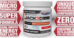 Jack3D Micro: il nuovo pre-workout della USPLabs | Recensione