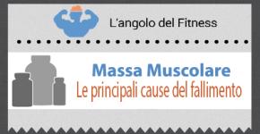 Massa muscolare: le principali cause del fallimento